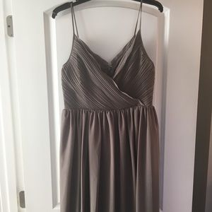 NWOT Banana Republic Size 8 grey party dress